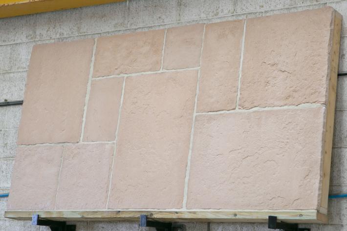 Cotswold flagstone - creamy/white