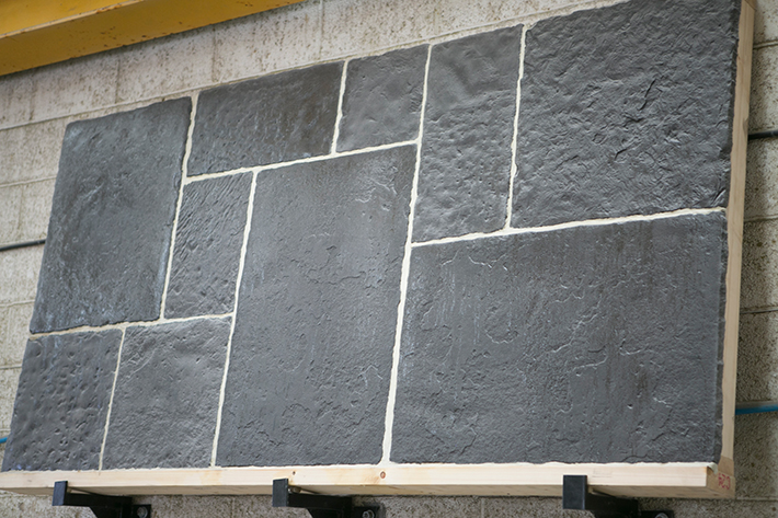 charcoal flagstones